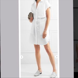 Rag & Bone white shirt dress xsmall